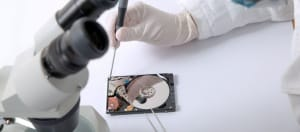 Hard Drive Surgery to Recover Data
