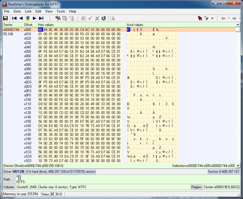 Disk Explorer