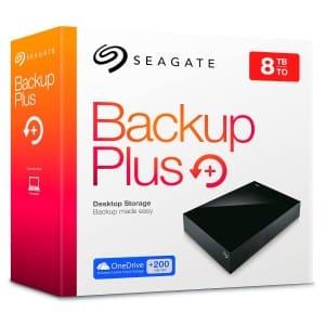 Seagate 8TB Backup Plus