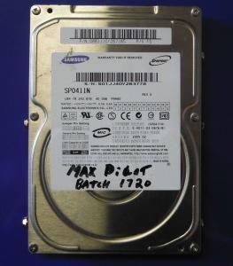 SAMSUNG, SP0411N, 40GB