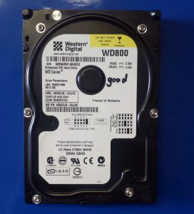 WD, 80G,